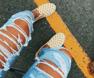 jeans and vans image