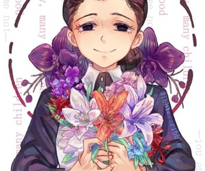 anime, flowers, and isabella image
