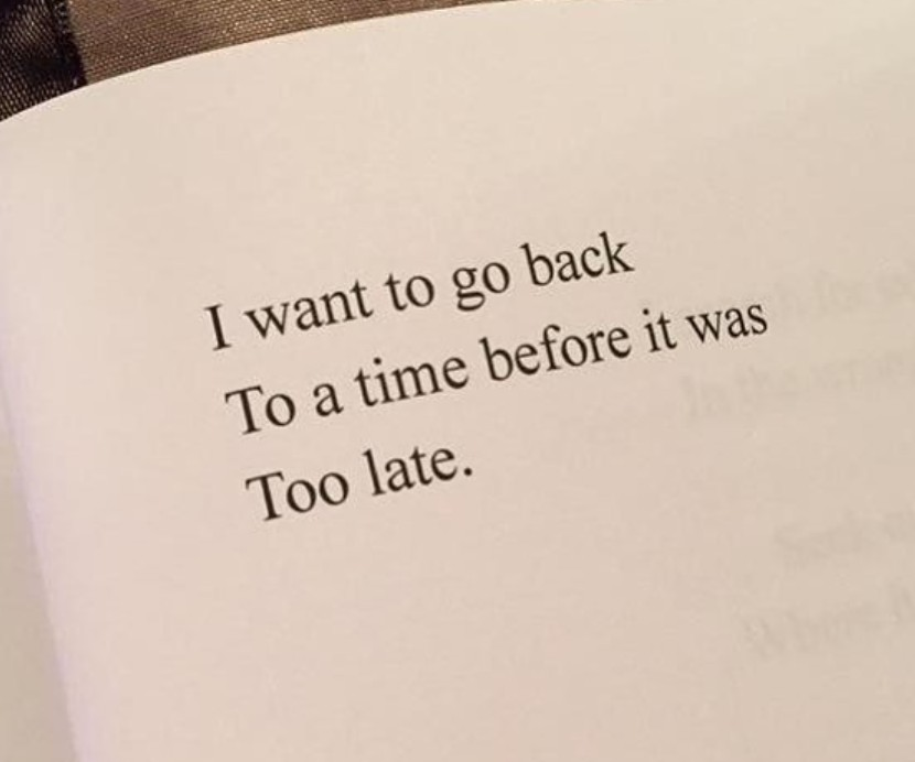 quotes, time, and too late image