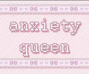 anxiety, Queen, and pink image