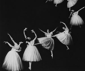 ballet, black and white, and photography image