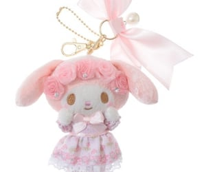 keychain, plush, and my melody image