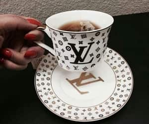 tea, Louis Vuitton, and luxury image