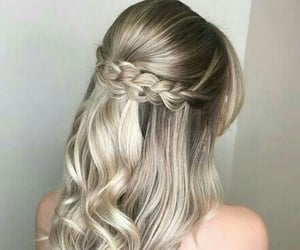hair, hairstyles, and style image
