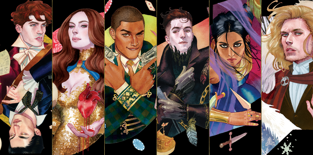 Image result for six of crows characters