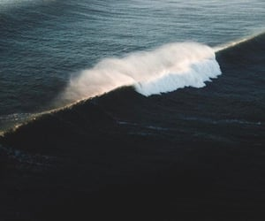 ocean, nature, and aesthetic image
