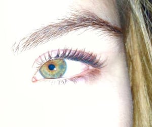 baked, green, and eye image