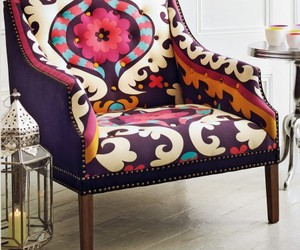 chair, colors, and deco image