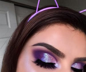 glitter and make up image