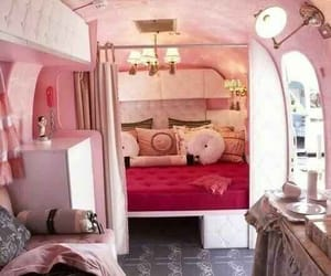 pink, car, and home image