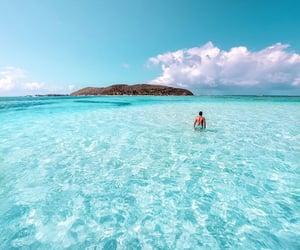 beach, travel, and Island image