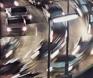 car, light, and traffic image