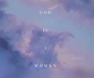 woman, god is a woman, and ariana grande image