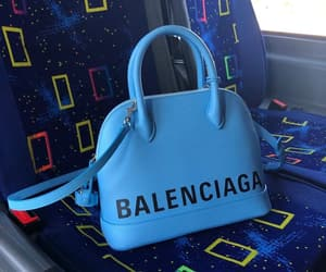 Balenciaga and blue image