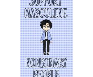 masculine, lgbtqiapd+, and pride image
