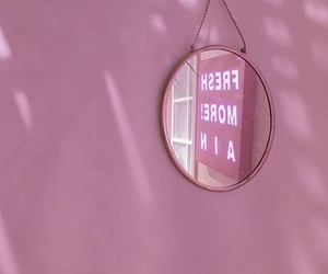 lights, mirror, and tumblr image