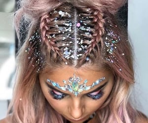 festival and hair image