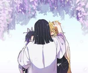 anime girl, cry, and hug image