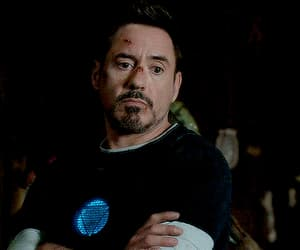 Avengers, robert downey jr, and boy image