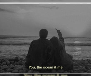 me, ocean, and quotes image