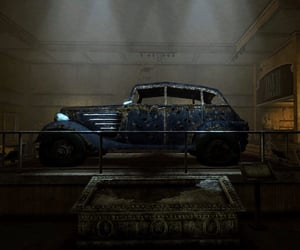 bonnie and clyde, fallout, and car image