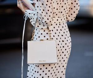 bag, black, and dots image