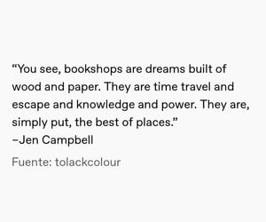 books, quote, and white image