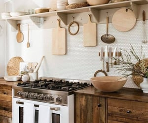 decor, dream home, and kitchen image