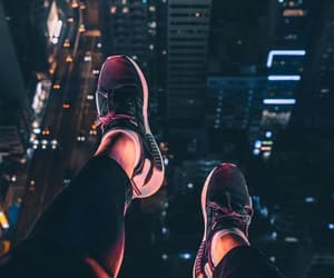 air, background, and city image