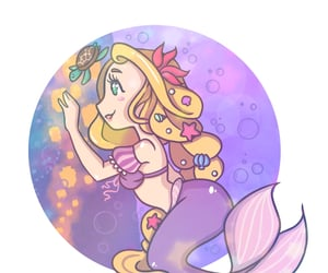 art, drawing, and rapunzel image