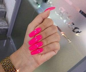 beauty, girly, and long nails image