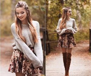 Blanc, brown, and fashion image