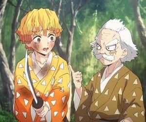 anime, gif, and demon slayer image