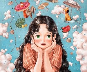 wallpaper and girl image