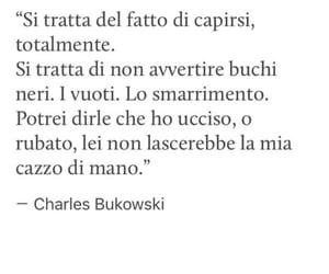 charles bukowski, frasi, and citazioni image