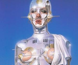futuristic and robot image