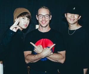 jin, namjoon, and bts image