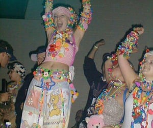 90s, rave, and kandi image