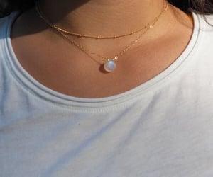 choker, dainty, and jewelry image