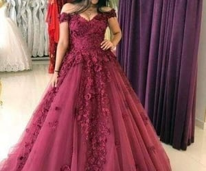 burgundy prom dresses, cheap prom dresses, and ball gown prom dresses image