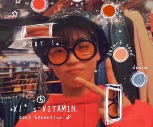 doodles, edit, and hyungjun image