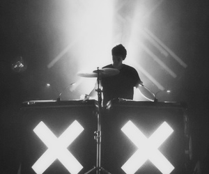 the xx, music, and band image