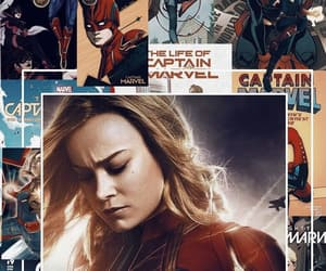Marvel, wallpaper, and brie larson image