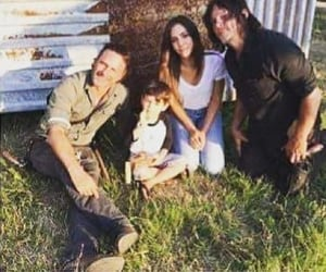 norman reedus and andrew lincoln image