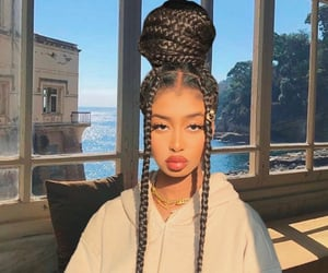 braids, lips, and view image