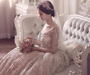 asian, bride, and Couture image