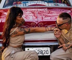 car, cholo, and kiss image