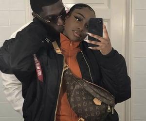 couple, love, and melanin image