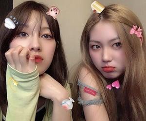 clc, seunghee, and eunbin image
