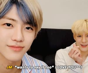 couple, gif, and nct dream image